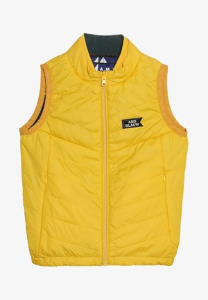 QUILTED REVERSIBLE BODY WARMER - Smanicato - bumble beach