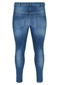 Zizzi - AMY  - Slim fit jeans - blue - 5