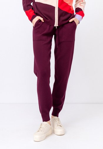 SOLID  - Teplákové kalhoty - brown red