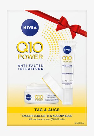 GIFTPACK Q10 POWER DAY CREAM + EYE CREAM - Hudplejesæt - -