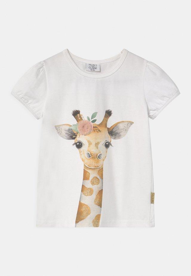 ANNIELLE - T-shirt print - white
