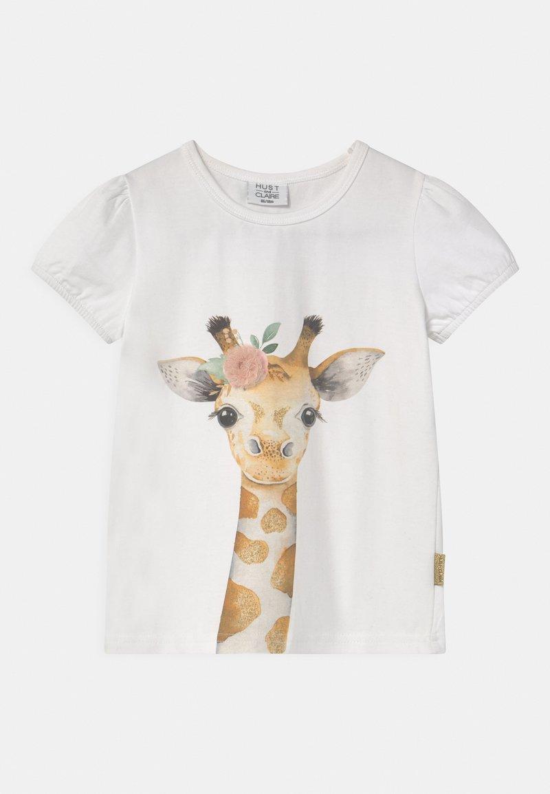 Hust & Claire - ANNIELLE - Print T-shirt - white
