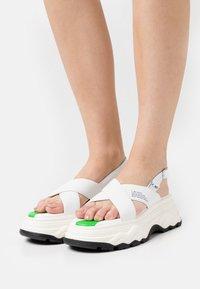 F_WD - Sandály na platformě - white - 0