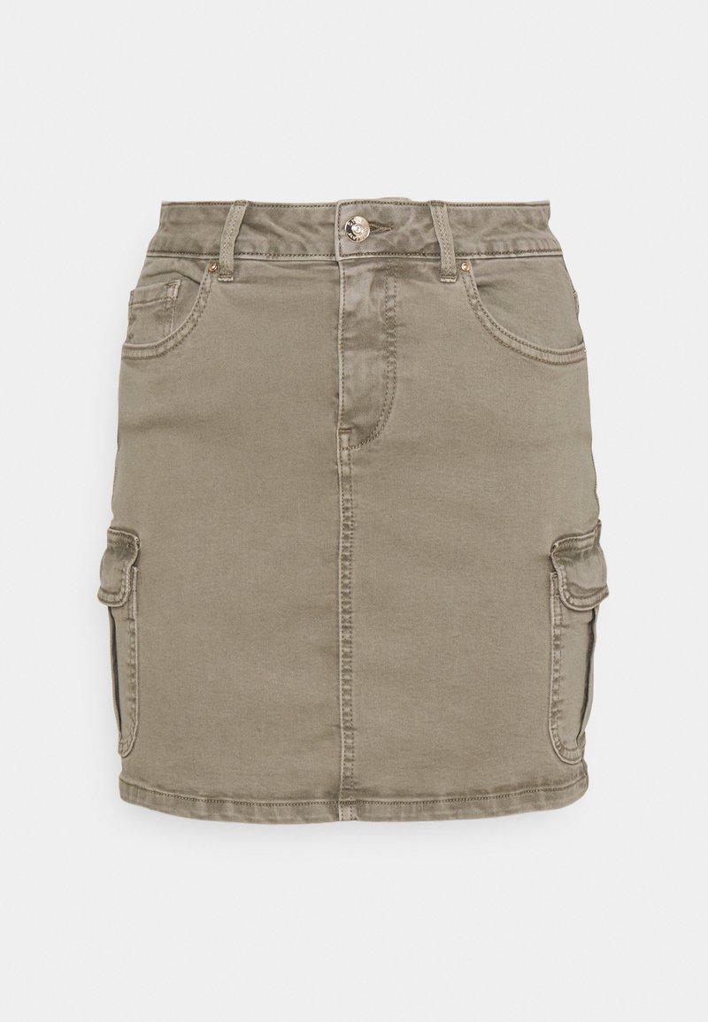 ONLY - ONLMISSOURI LIFE SKIRT - Mini skirt - covert green