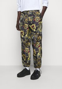 Versace Jeans Couture - MAN TROUSER - Tracksuit bottoms - nero - 0