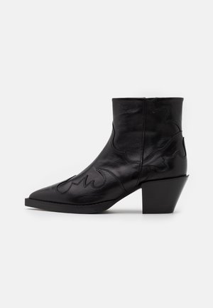 BOTTINES EN AVEC DECOUPES - Classic ankle boots - black