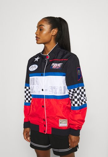 NBA ALL STAR WOMENS PIT CREW JACKET - Training jacket - black/white