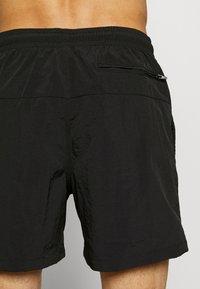 Urban Classics - BLOCK SWIM 2 PACK - Swimming shorts - orange/black - 2