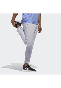 adidas Performance - AEROREADY 3-STRIPES PANTS - Tracksuit bottoms - grey - 2