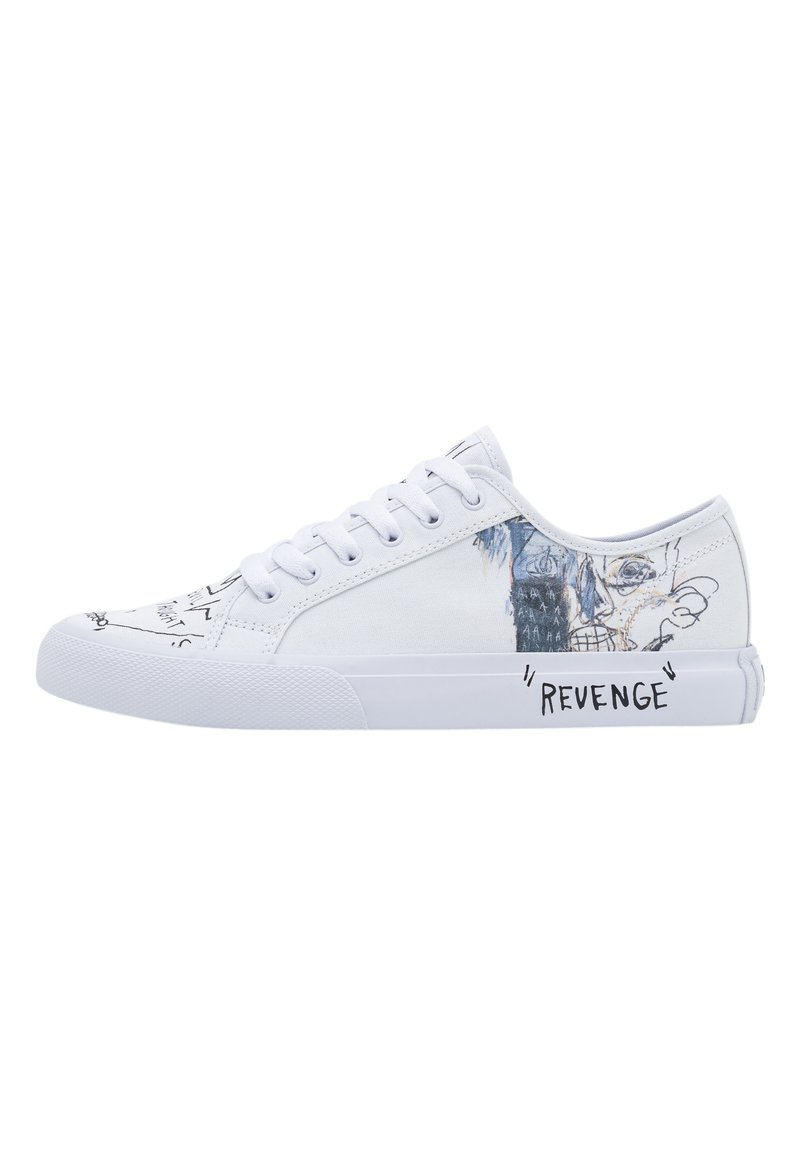 DC Shoes - BASQ MANUAL - Matalavartiset tennarit - white/black