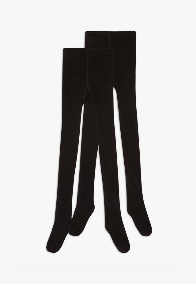 NKNPANTYHOSE 2 PACK - Sukkahousut - black