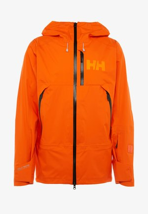 SOGN JACKET - Hardshelljacke - bright orange