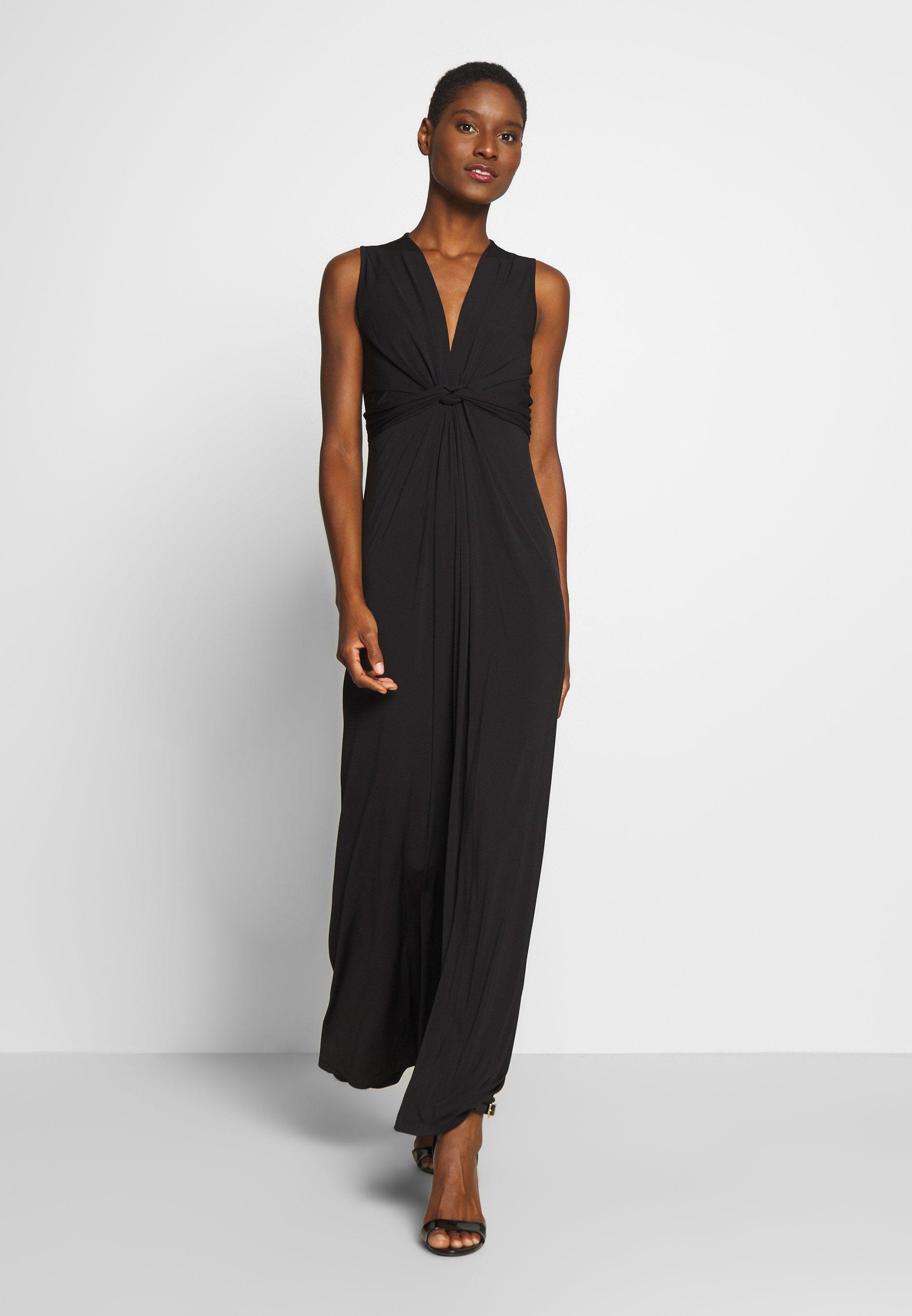 Mujer BASIC - FRONT KNOT MAXI DRESS - Vestido largo