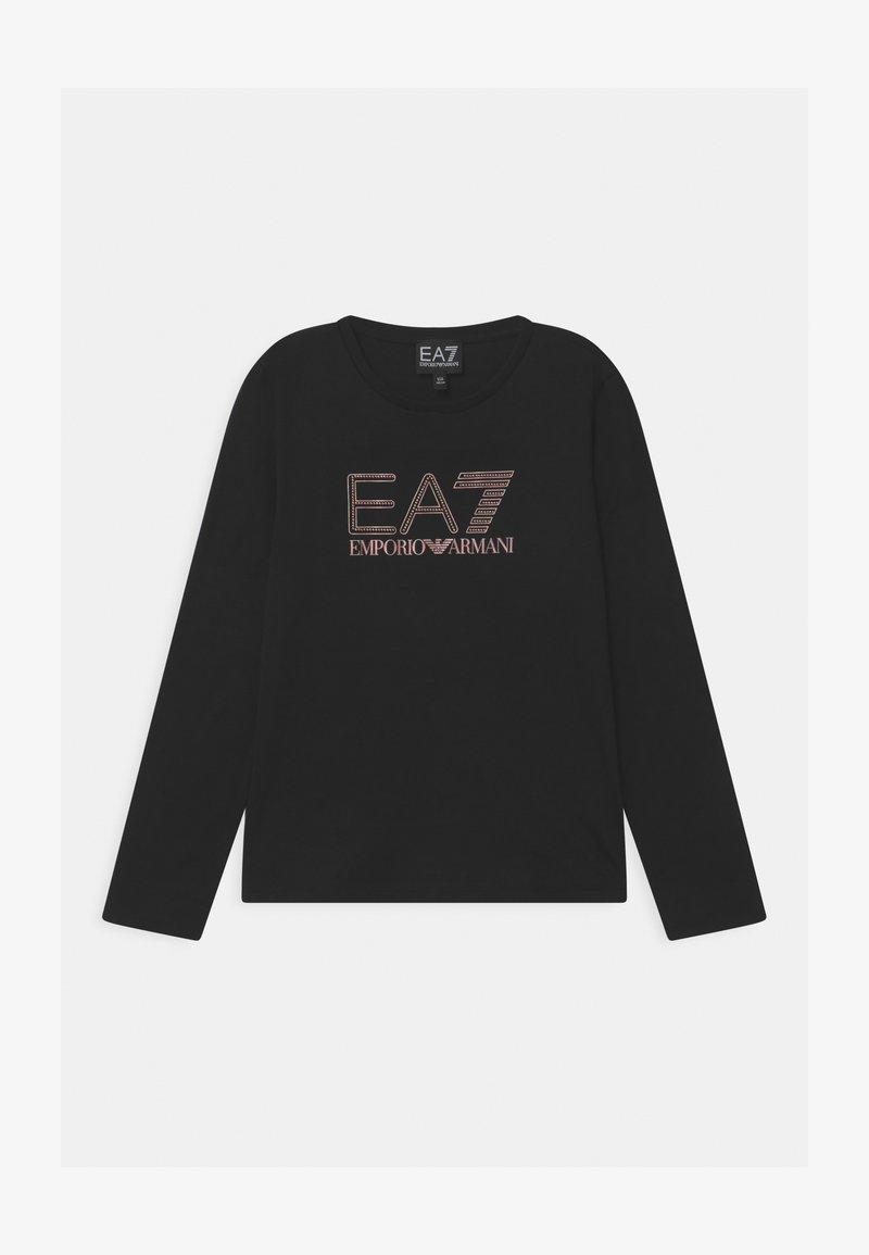 Emporio Armani - EA7  - Top sdlouhým rukávem - black