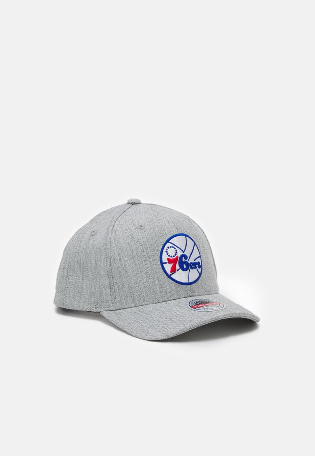 NBA PHILADELPHIA  TEAM REDLINE SNAPBACK - Article de supporter - grey heather