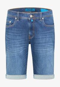 Pierre Cardin - Denim shorts - darkblue - 3