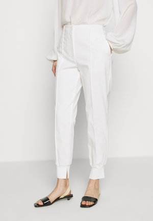 GHOST WAISTBAND - Trousers - white