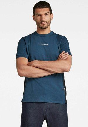 MOTO NEOPRENE R T - T-shirt imprimé - luna blue