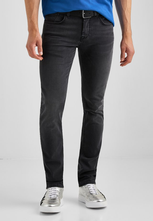 MOVIMENTO JACK  - Slim fit jeans - schwarz used