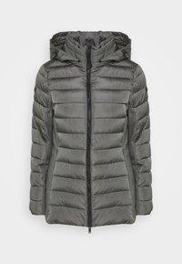 WOMAN MID JACKET HOOD - Winter jacket - dust
