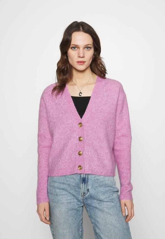 CYDNEY - Gilet - rose violet melange