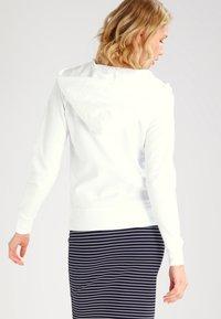 GAP - veste en sweat zippée - white - 2