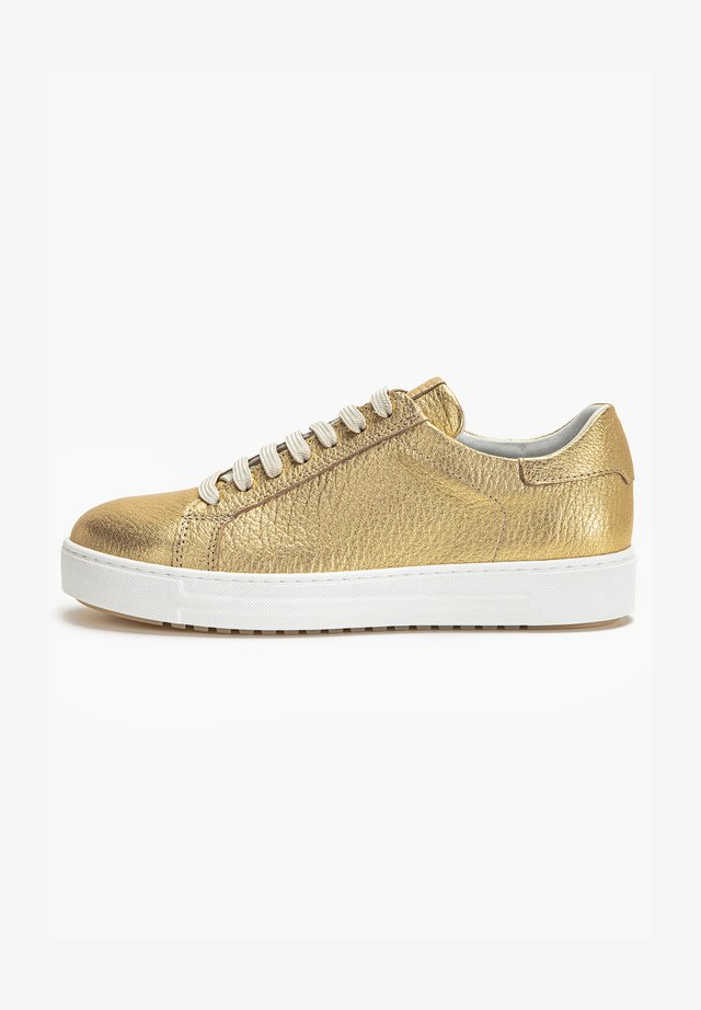 Sneakers laag - gold gld