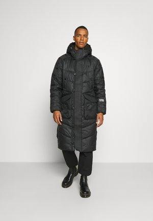 UTILITY QUILTED EXTRA LONG PARKA - Wintermantel - namic lite black