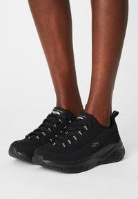 Skechers Sport - ARCH FIT - Sneakers laag - black/silver - 0