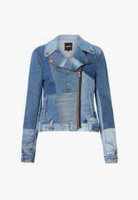 Desigual - Giacca di jeans - blue - 5