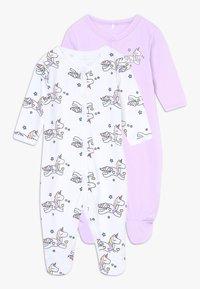 Name it - NBFNIGHTSUIT LAVENDULA 2 PACK - Pyjamas - lavendula - 0