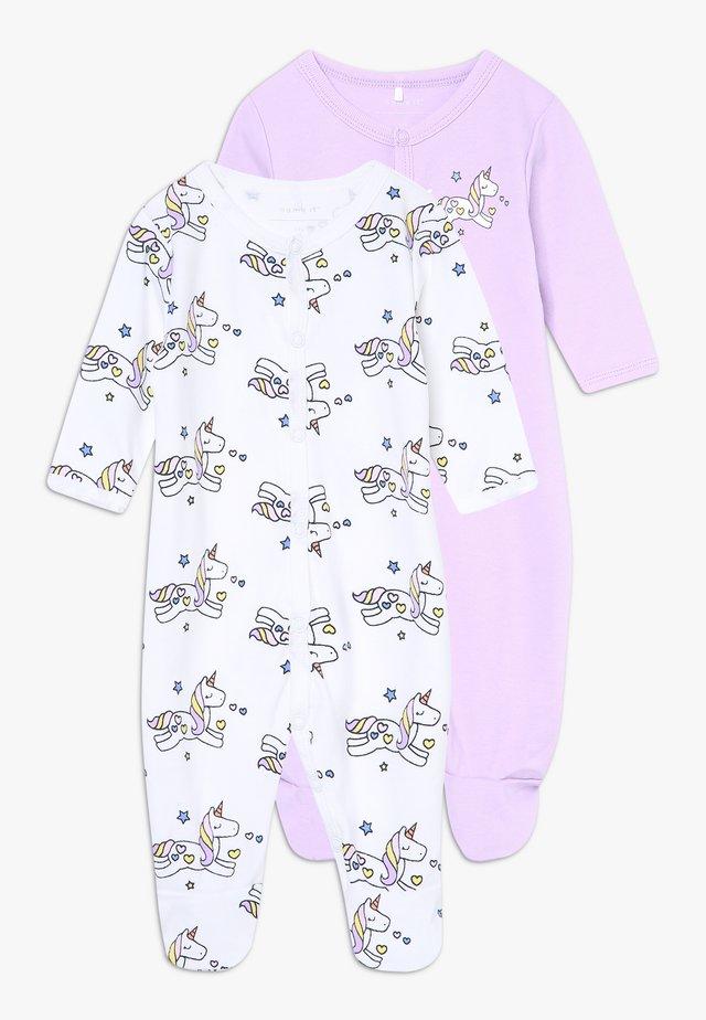 NBFNIGHTSUIT LAVENDULA 2 PACK - Pyjamas - lavendula