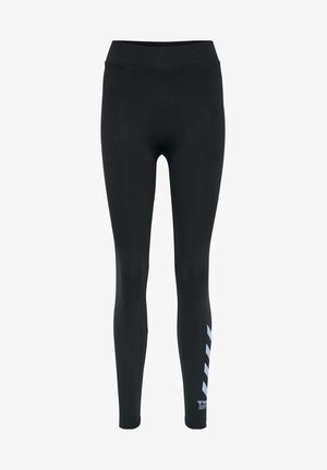 CATE HIGH WAIST - Leggings - black