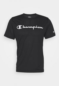 Champion - LEGACY TRAINING CREWNECK - T-shirt imprimé - black - 4