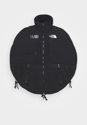 MM6 X THE NORTH FACE COAT - Fleece jacket - black