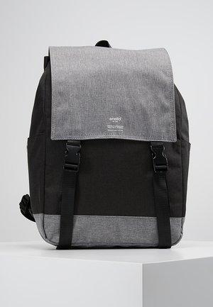 SLIM FLAP BACKPACK UNISEX - Sac à dos - black grey