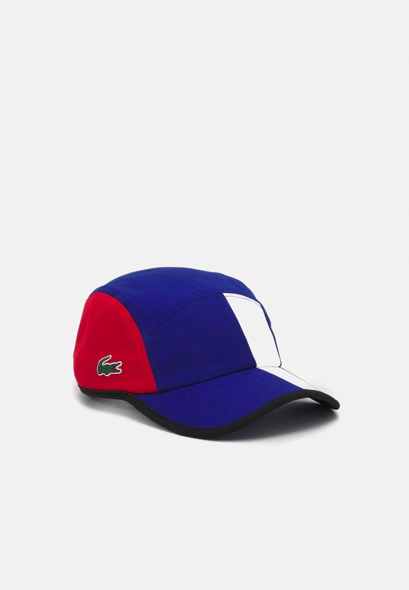 Lacoste Sport - TENNIS UNISEX - Cap - cosmic/red white black