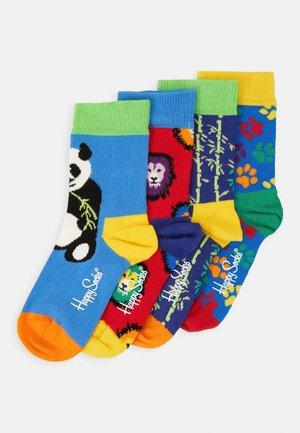 WILDLIFE UNISEX 4 PACK - Socks - multi-coloured