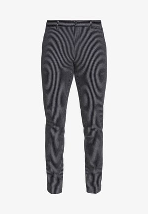 FLEX STRIPE SLIM FIT PANT - Bukser - blue
