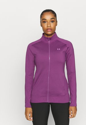 STORM MIDLAYER FULL ZIP - Zip-up hoodie - baltic plum