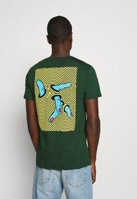 YOURTURN - T-shirt print - dark green - 2