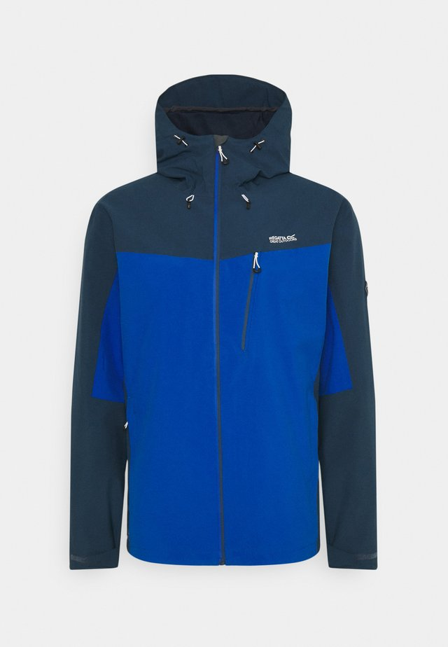 BIRCHDALE - Hardshell jacket - dark blue/black