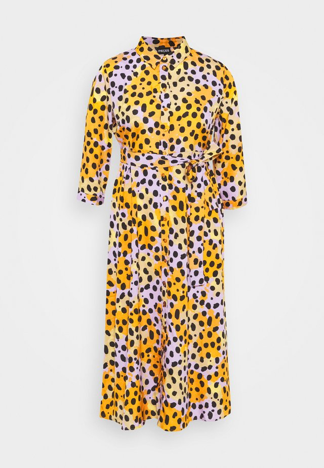 PCROSIA DRESS  - Shirt dress - apricot