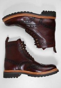 Grenson - FRED - Botines con cordones - brown - 1