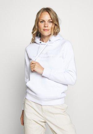 ORIGINAL HOOD - Hoodie - white