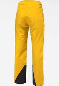 Haglöfs - LUMI FORM PANT - Snow pants - pumpkin yellow - 6