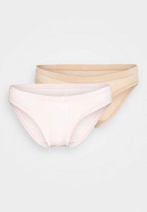 BODY MOUV BRIEF 2 PACK - Briefs - pink/new skin