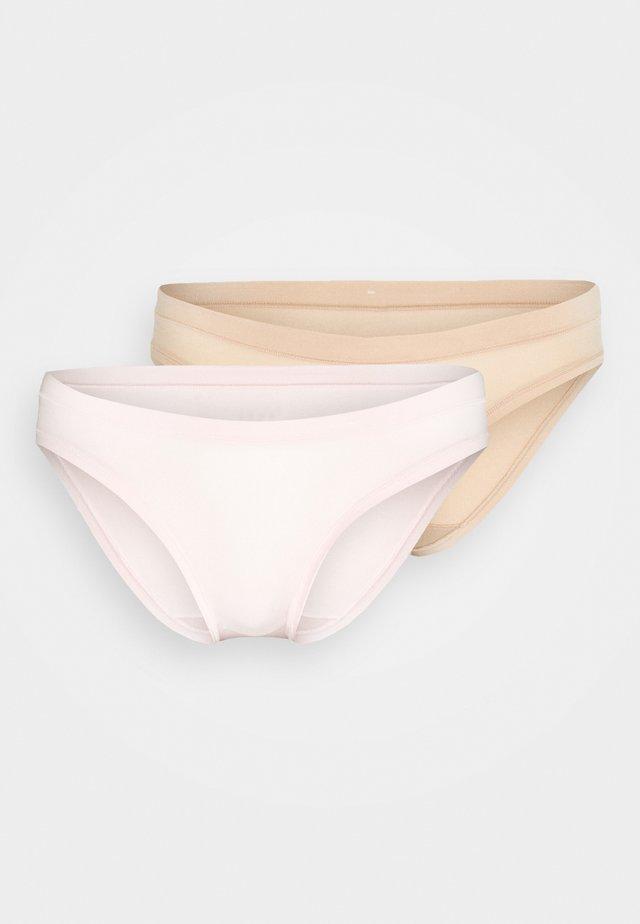 BODY MOUV BRIEF 2 PACK - Kalhotky - pink/new skin