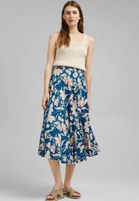 Esprit - A-snit nederdel/ A-formede nederdele - bright blue - 1