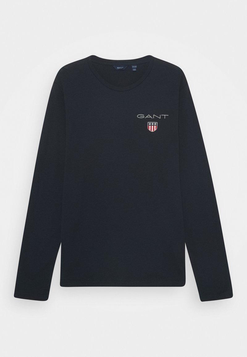 GANT - MEDIUM SHIELD UNISEX - Långärmad tröja - evening blue